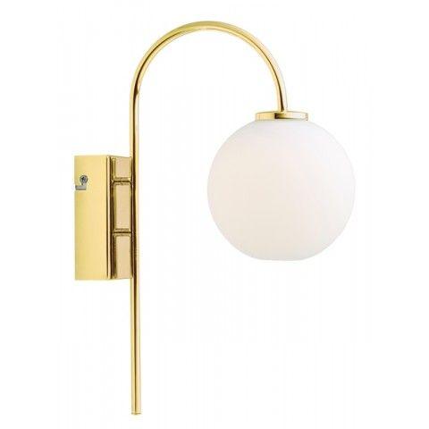 Herstal Ballon LED Vägglampa Mässing - lavanille.com