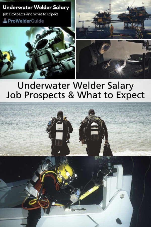 Underwater Welder Salary Information Underwater Welder Underwater Welding Underwater