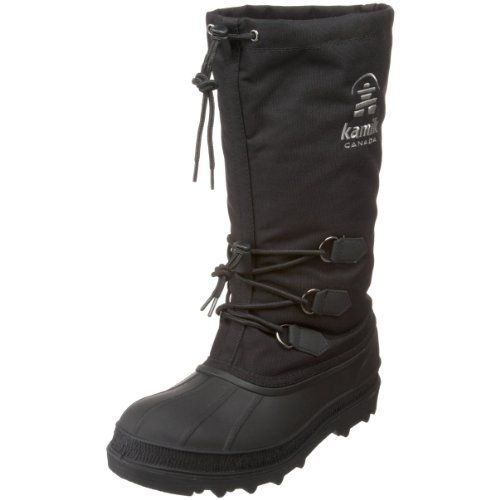 Kamik Men's Canuck Cold Weather Boot,Black,9 M US - http://authenticboots.com/kamik-mens-canuck-cold-weather-bootblack9-m-us/