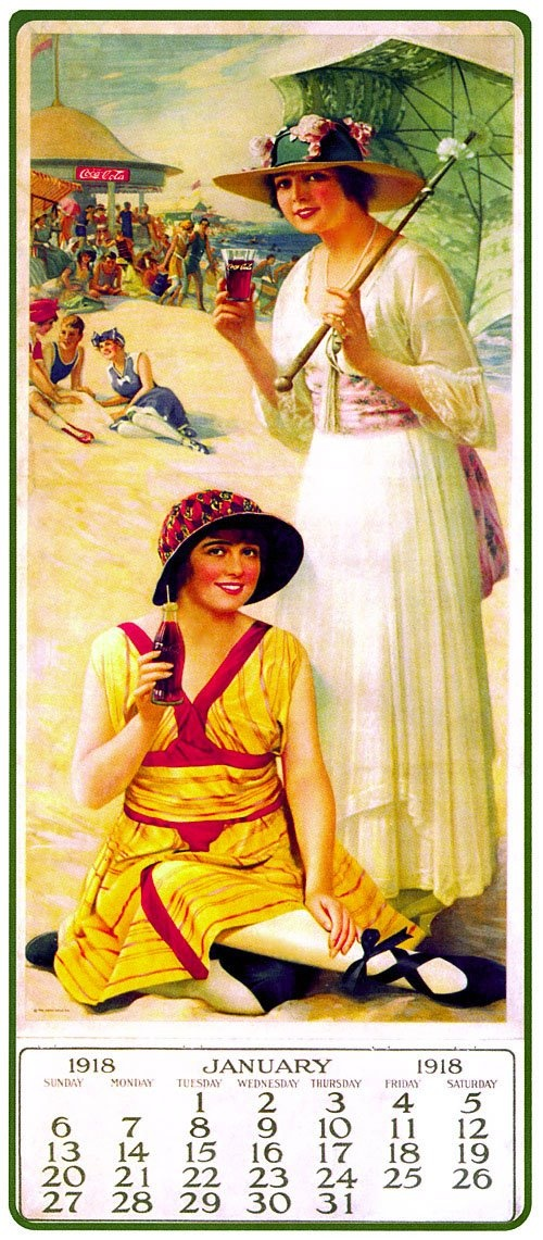Old Coca Cola Ads & Posters 1918