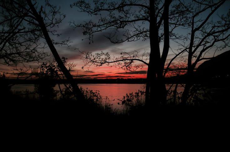 San Valentino – Ebbene, dilaniar cerbiatti per boschi in nome di Dioniso non è nel mio stile. Ma a parte questa bagattella, tutto di me fa pensare che sarei stata un'eccellente baccante. Cruelty free, con certificazione ICEA.  #tramonto #sunset #rosa #pink #nature #natura #lago #alberi #dark #nero #paesaggio #pusiano #oggiono #lecco #lombardia