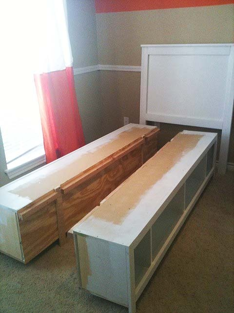 110 best raised floor storage images on pinterest good for How to raise your bed frame