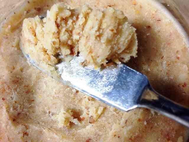 糖質制限ココナッツオイルアーモンドバター
