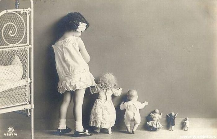 Vintage Photography hide and seek