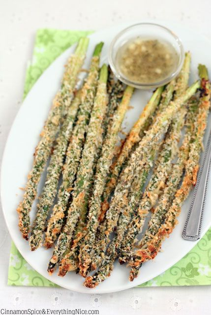 Roasted Asparagus with Lemon Parmesan Bread Crumbs