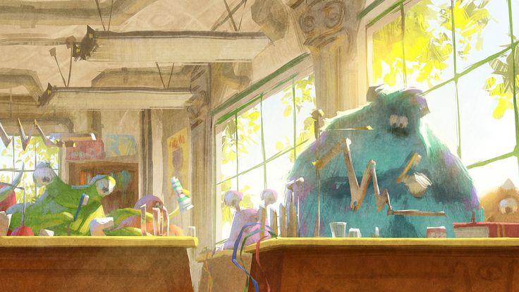Dice Tsutsumi - Monsters University concept art