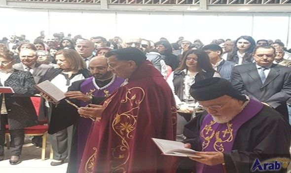 Rahi officiates over Good Friday mass in Bkirki