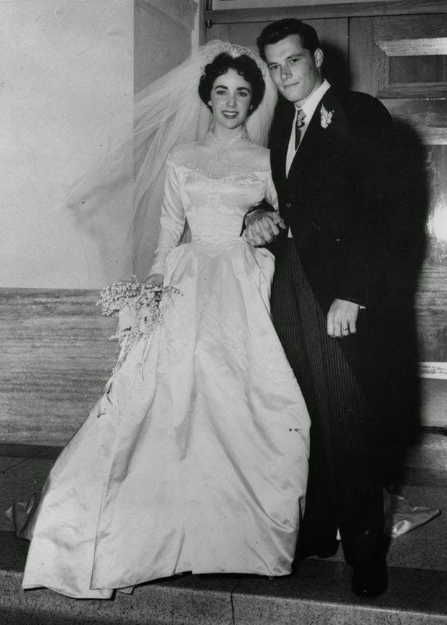 vintage everyday: 40 Cool Vintage Photos of Celebrity Weddings