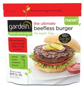 Best meatless burger ever!  gardein, deliciously meatless foods