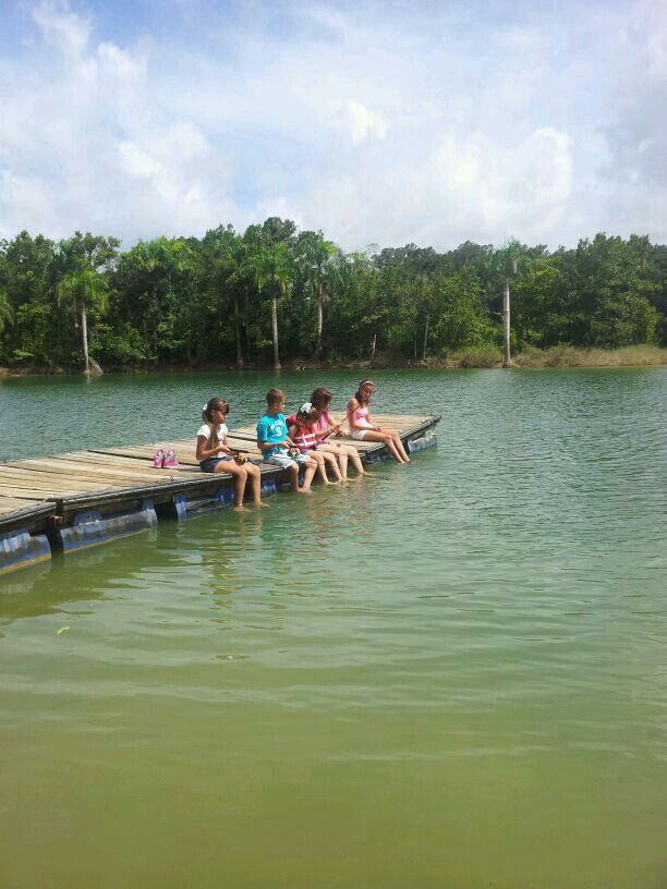 Backlash fishing club in guajataca lake puerto rico for Puerto rico fishing