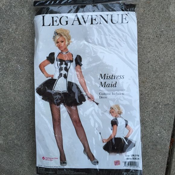 Leg Ave Mistress Maid Leg Ave Mistress Maid Leg Avenue Other Maid Costume Maid Mistress