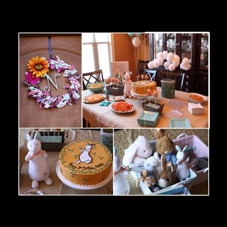 Pat the Bunny first birthday party