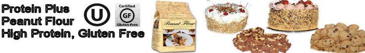 Gluten Free, Lower Fat, High Protein Peanut Flour