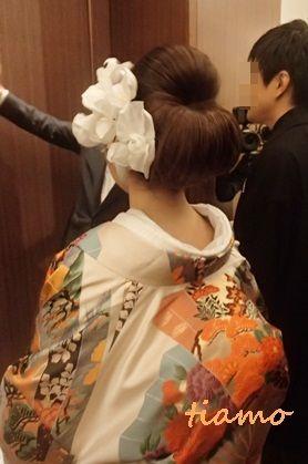 ドレスから和装にチェンジ♡可愛い花嫁さまの素敵な一日 |大人可愛いブライダルヘアメイク『tiamo』の結婚カタログ