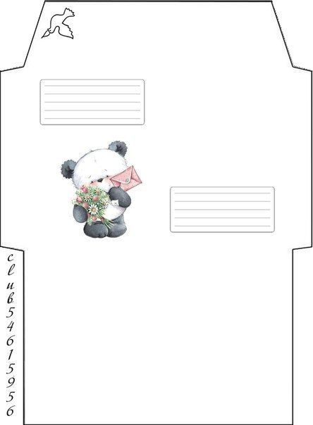 14 best Printable Envelopes images on Pinterest Envelopes, Free - 4x6 envelope template