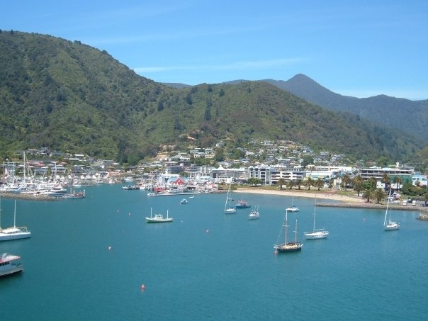 Picton, New Zealand. The gateway to the South Island.