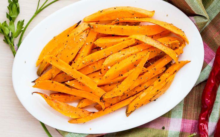 Stick di carote alla paprika