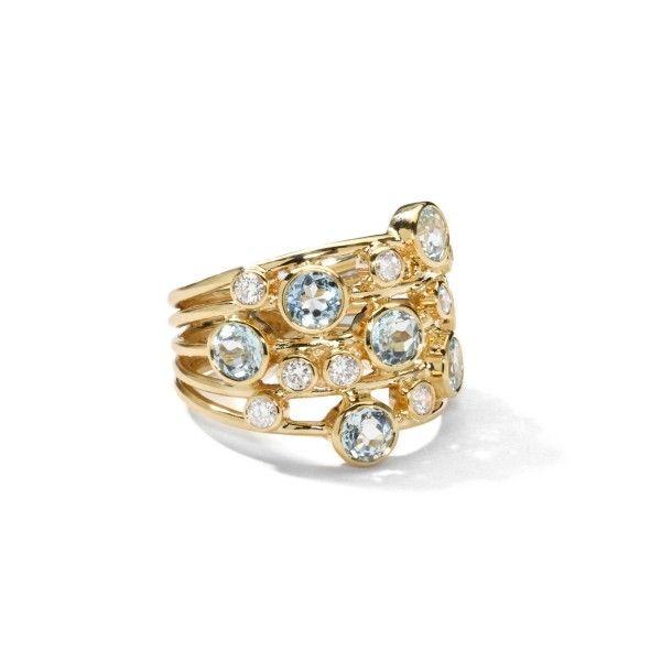 ippolita 18k gold lollipop ring blue topaz