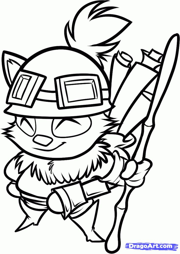 How To Draw Teemo From League Of Legends Step By Step Video Game Characters Pop Culture Free League Of Legends League Of Legends Characters Online Drawing Create digital artwork to share online and export to popular image formats jpeg, png, svg, and pdf. how to draw teemo from league of