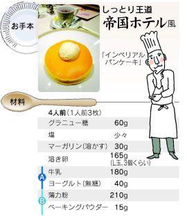 バター不要 ホテルの朝食のようなパンケーキ焼くコツ :日本経済新聞