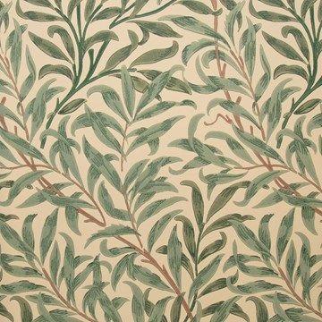Engelska Tapetmagasinet - tapeter - William Morris - Willow Bough - rutig tapet - 1890-tal