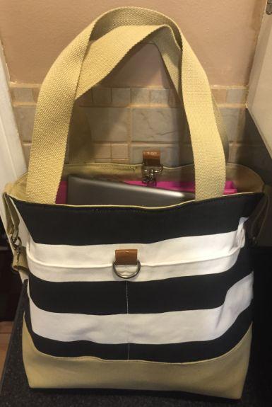 New teacher bag!! It's listed as a diaper bag but makes a great teacher bag.