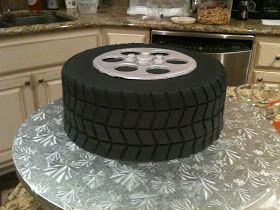 Yes It's Cake!: Tire Cake