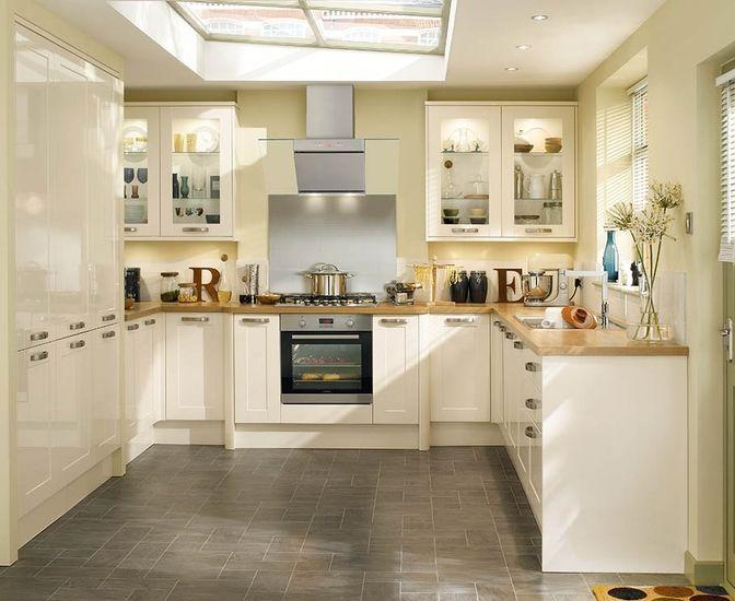 17 Best White Shaker Kitchens Images On Pinterest White