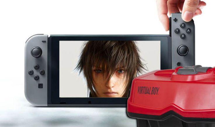 Nintendo Switch NEWS - Latest stock update FF15 tease Virtual Boy 2 inbound - Express.co.uk #757Live