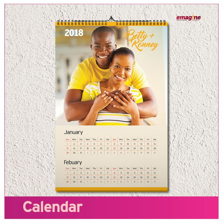 CALENDAR- For wall and table calendars with inspirational designs, look no further. Gift your friends and family with calendars they will absolutely love –every day of the year. You need this to make yours  #aWeddingtoremember. Emagine that!