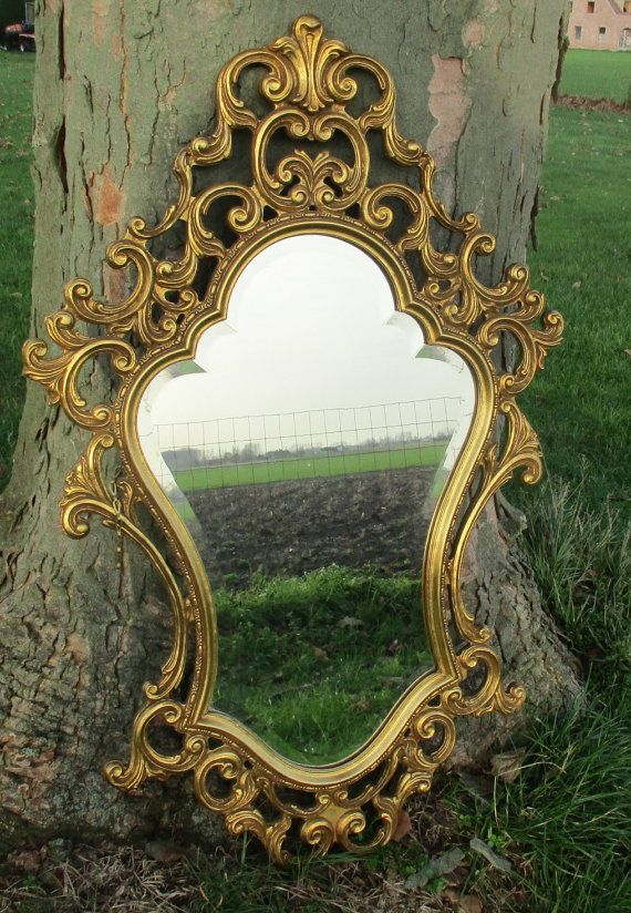 Hey, I found this really awesome Etsy listing at https://www.etsy.com/listing/262869149/vintage-mirror-hollywood-regency-style