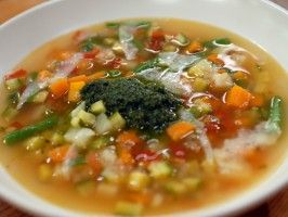 Pistou Soup : Recipes : Cooking Channel - obviously leave out the cheese