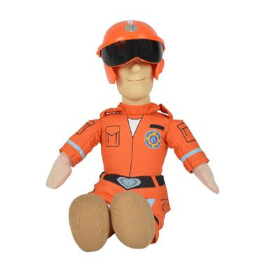 Brandweerman Sam pluchen knuffel 25 cm - Piloot Sam  De piloot uit Brandweerman Sam wil een betrouwbare vriend zijn voor je kind. Bovendien houdt hij enorm van knuffelen!  EUR 9.99  Meer informatie