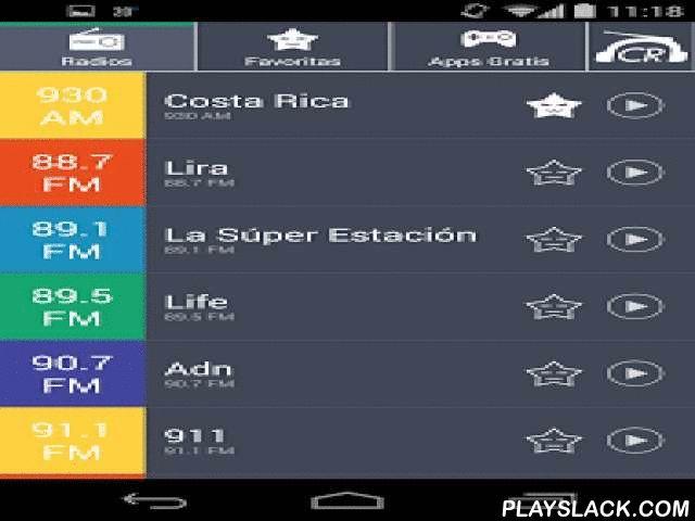 Radios De Costa Rica Radio CR  Android App - playslack.com , Quieres escuchar las radios de Costa Rica por Internet? Usa radioCR, la radio más ligera y rápida de radios de Costa Rica. Con radioCR puedes escuchar, en tu celular o tablet, las mismas frecuencias radiales de música que la radio en Costa Rica, y ocupa mucho menos espacio que aplicaciones similares. Si te gusta una emisora añádela a favoritos para encontrarla más fácilmente.La aplicación está diseñada para multitask, así que una…