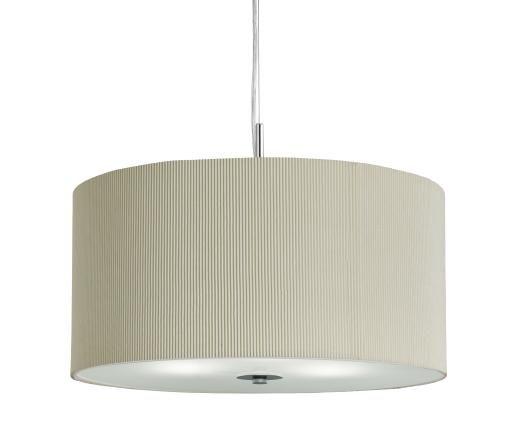 SEARCHLIGHT 2356-60CR | Pendant Light Fitting | DRUM