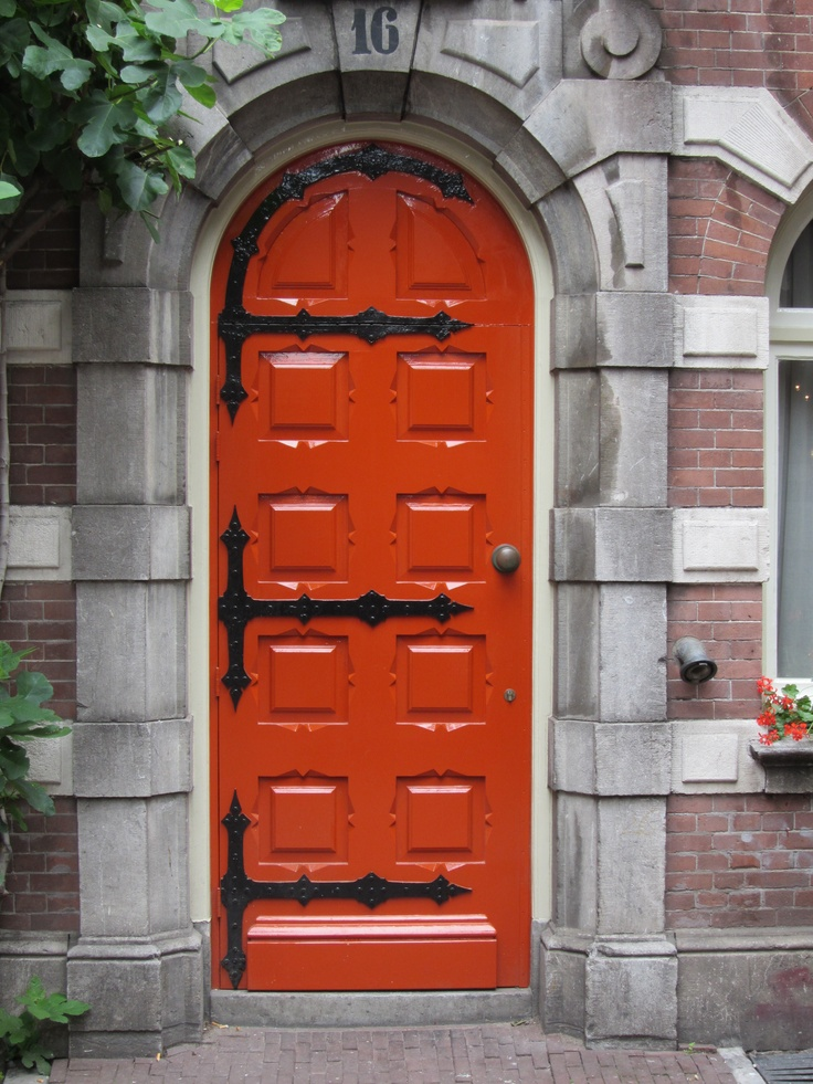 Red door in Amsterdam & 445 best Doors images on Pinterest Pezcame.Com