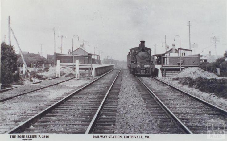 Railway Station Edithvale Melbourne Suburbs And