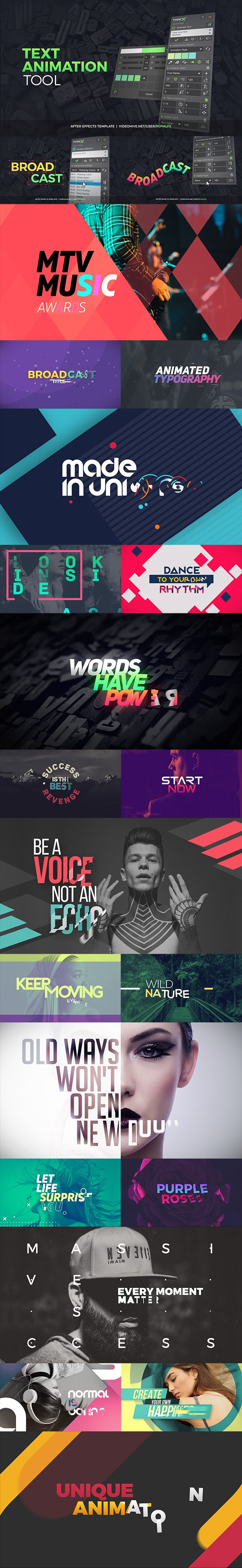 TypeX  Text Animation Tool   VOL.05: Broadcast Titles Pack  • After Effects Template • See it in action ➝ https://videohive.net/item/typex-text-animation-tool-vol05-broadcast-titles-pack/20233979?ref=pxcr