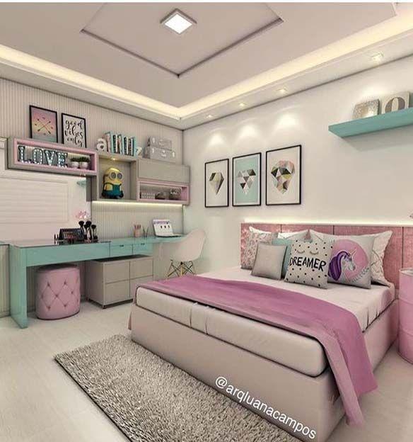 Modernes skandinavisches Innenschlafzimmerdesign ...