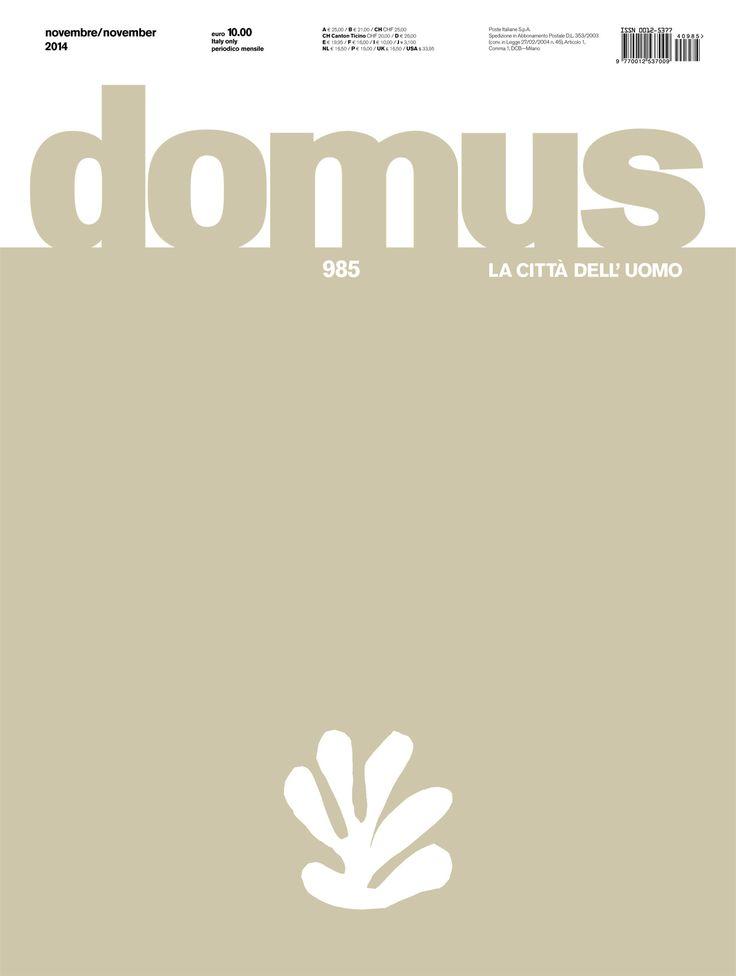 Domus 985, November 2014