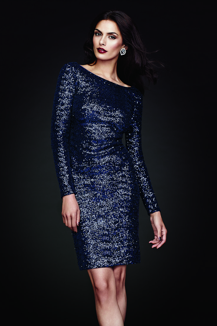 All-Over Sequin Dress