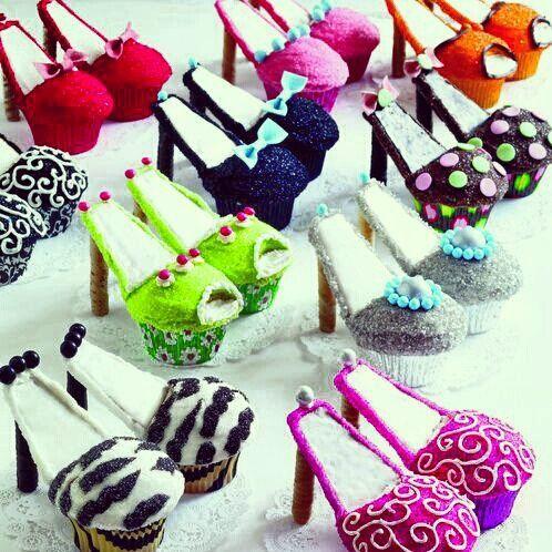 High heel cupcakes ;)