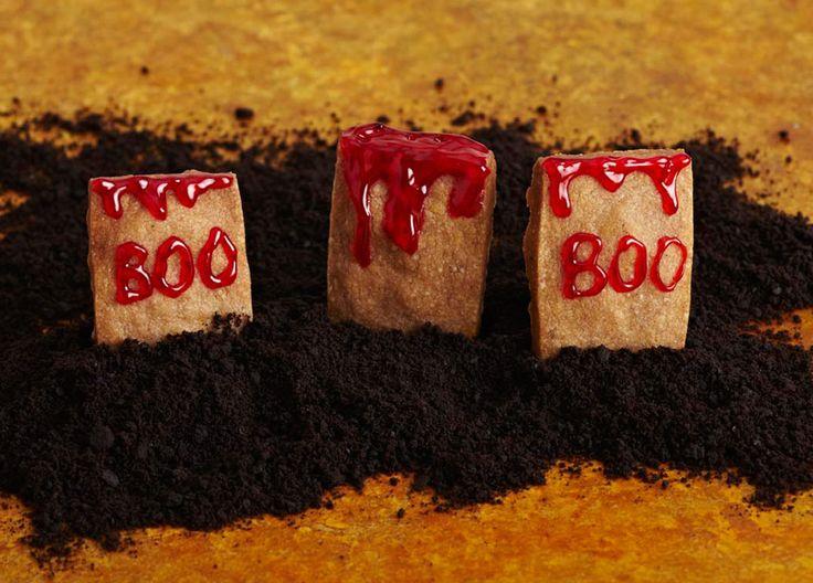 Halloween Gravestone Cookies