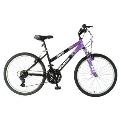 """Mantis Girl's Raptor 24"" Front Suspension Mountain Bike"""