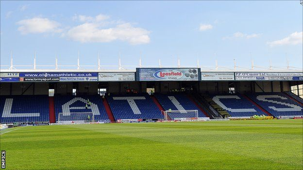 The football team i support, Oldham Athletic #MFC4012