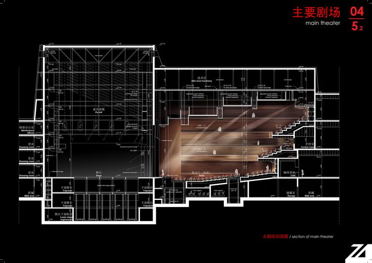 Image 21 of 29 from gallery of Shenzhen Performing Arts Facility / ZOBOKI-DEMETER & Associates. Section Main Theater