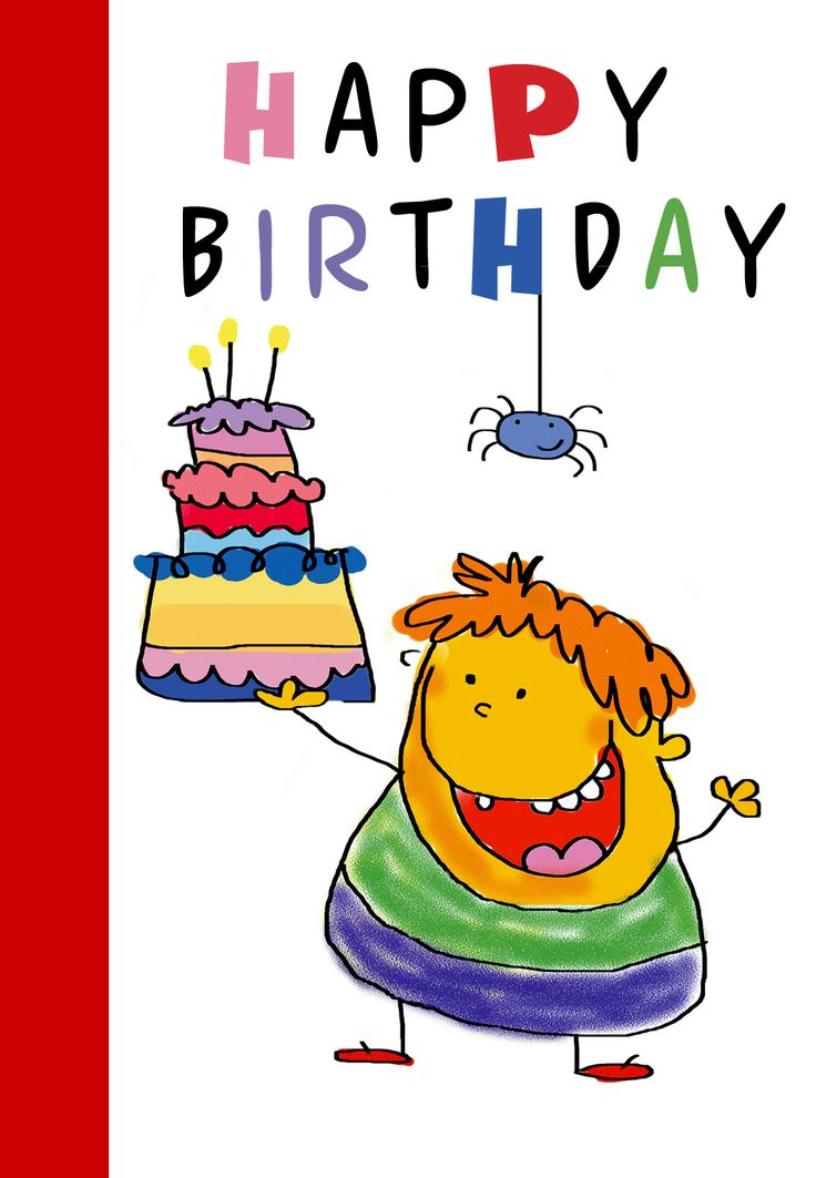 It is an image of Persnickety Free Printable Kids Birthday Cards