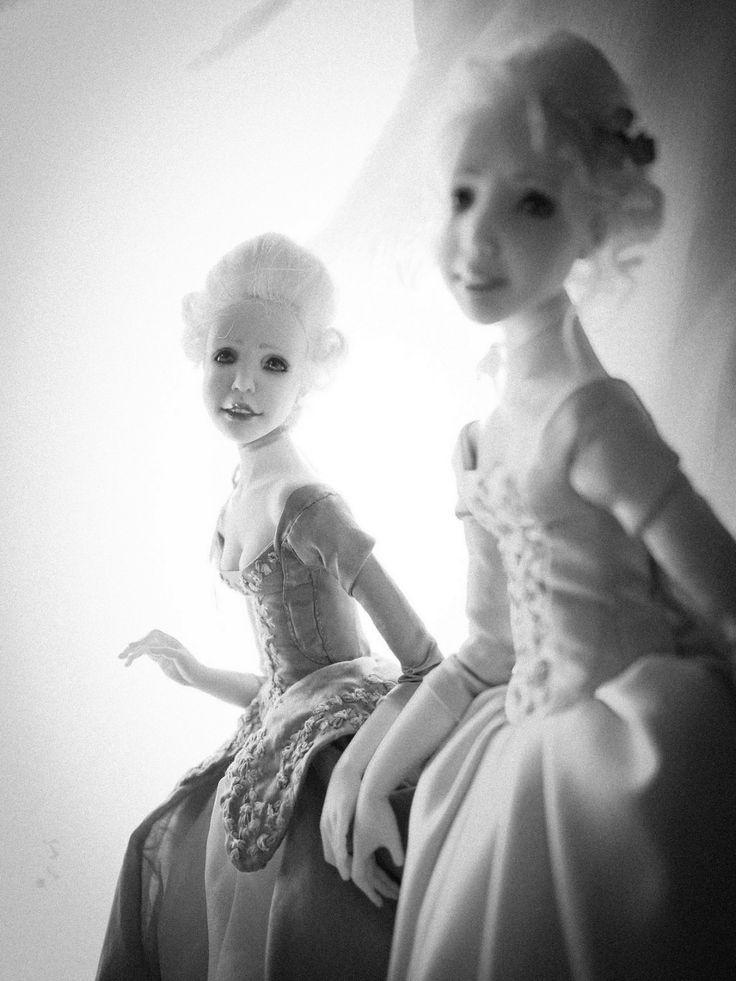 """La Noblesse"". Handmade OOAK dolls."