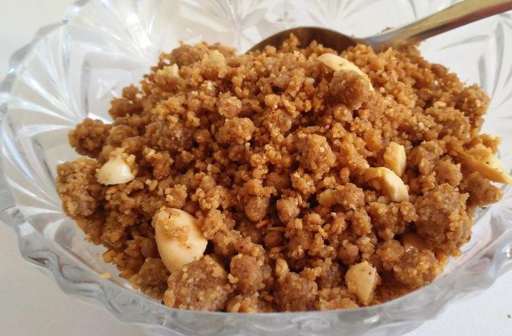"Moroccan ""Sfouf"" Recipe - Traditional Ramadhan Sweet (Sellou) - Ahlanwasahlan #roasted #nuts (#vegan option) :)"