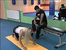 Jak zdjąć spodnie?  Noga treningu zdjąć spodnie.  - YouTube